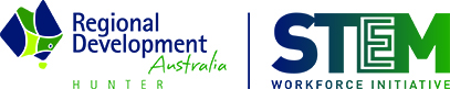 Regional Development Australia STEM – Hunter Logo