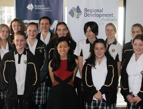 MARITA CHENG INSPIRES HUNTER SCHOOL GIRLS
