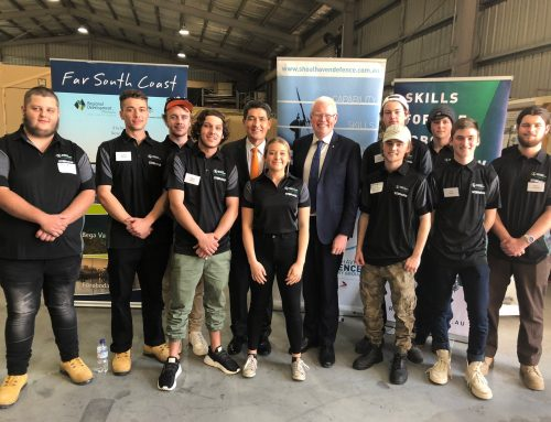 NSW GOVERNMENT SUPPORTS EXPANSION OF HUNTER DEFENCE STEM PROGRAM INTO SHOALHAVEN