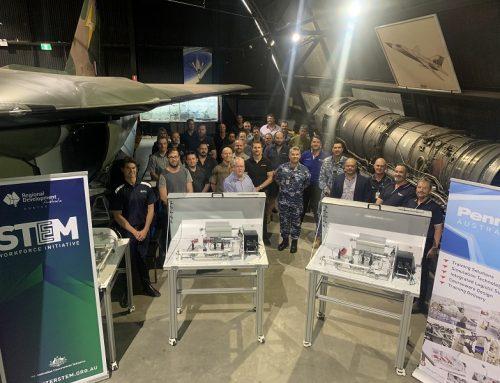 RDA HUNTER AND PENNANT AUSTRALASIA PARTNER FOR INTERNATIONAL AEROSPACE SKILLS DEVELOPMENT